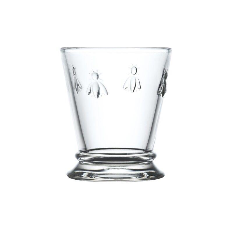 La Rochre Verre  eau  en verre transparent - lot de 6