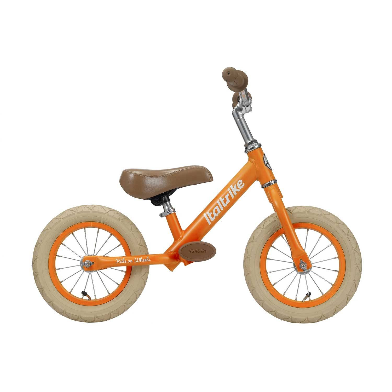 Italtrike Draisienne métal orange avec freins