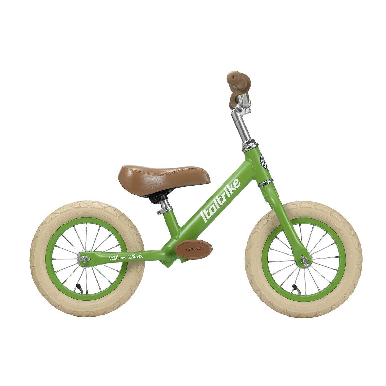 Italtrike Draisienne métal vert pomme avec freins