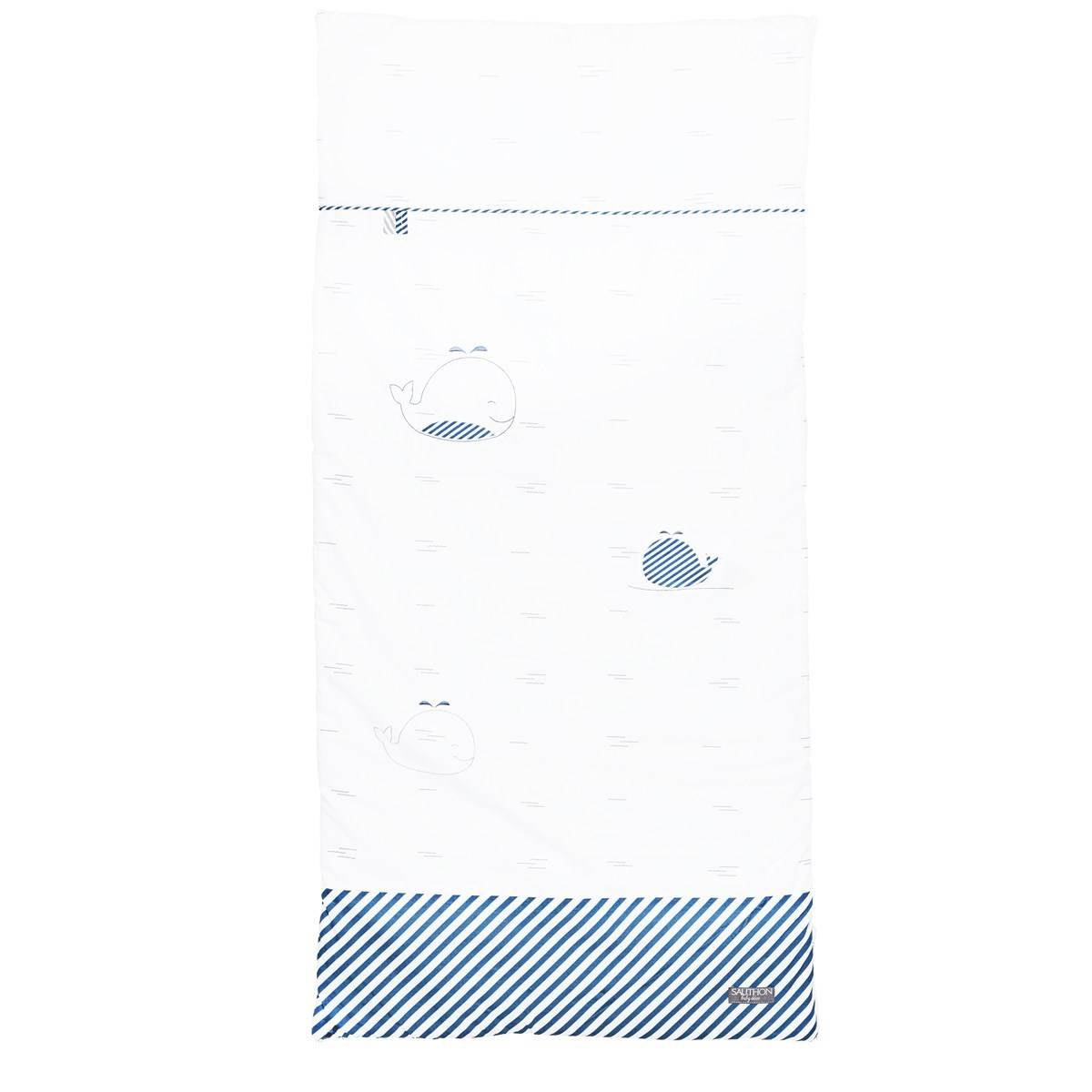 Sauthon Edredon 140x70 en coton blanc