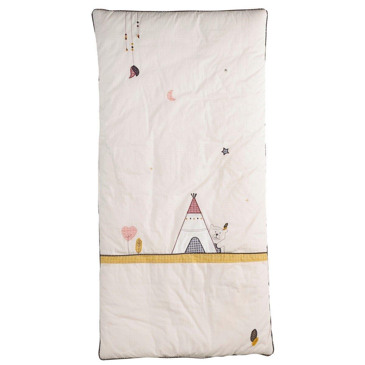 Sauthon Edredon pour lit bébé 120x60 en polyester beige