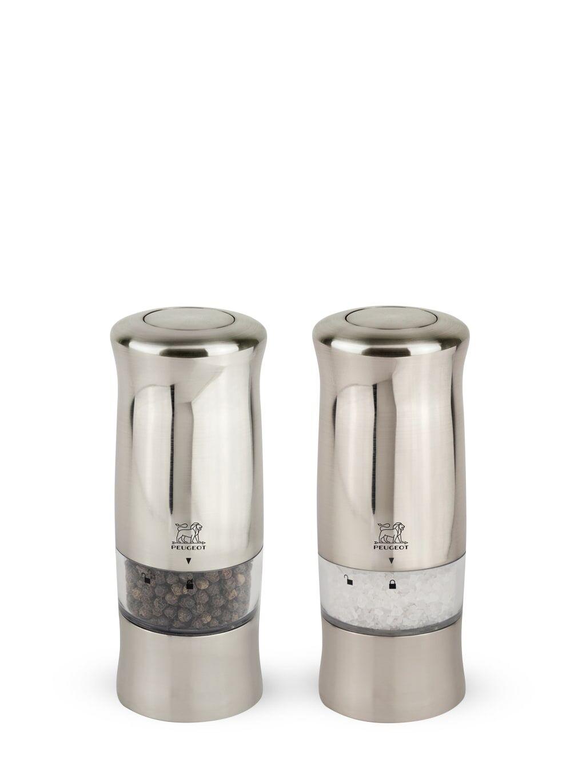 Peugeot Saveurs Duo de moulins  poivre et sel électriques H14cm