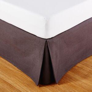 Maisons du Monde Cache-sommier 180x200 en coton gris anthracite - Publicité