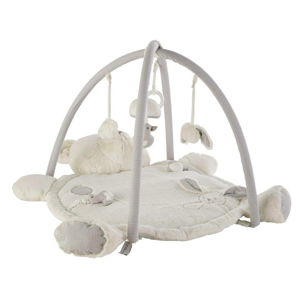 Maisons du Monde Tapis d'éveil bébé ourson en coton 70x90