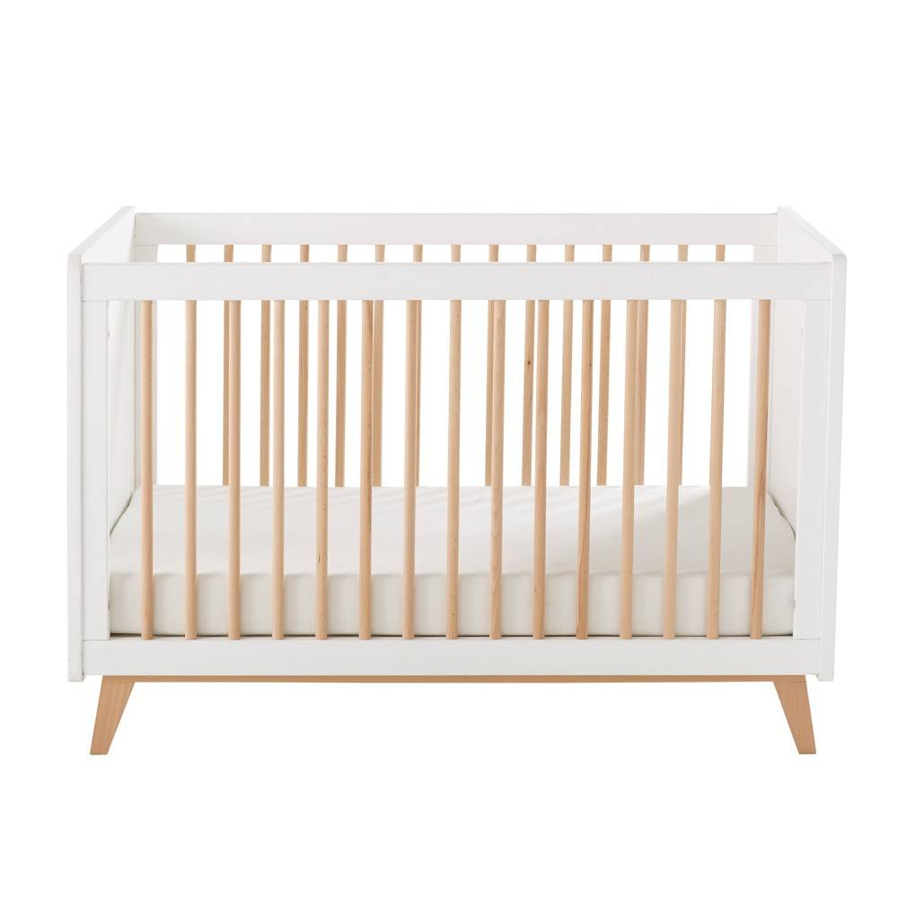 Maisons du Monde Lit vintage bébé  barreaux L125