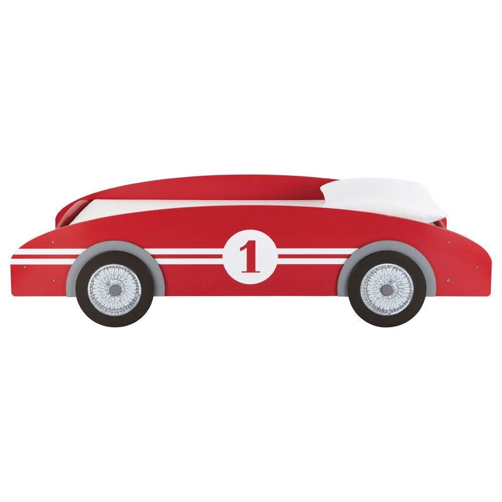 Maisons du Monde Lit voiture enfant 90x190 rouge