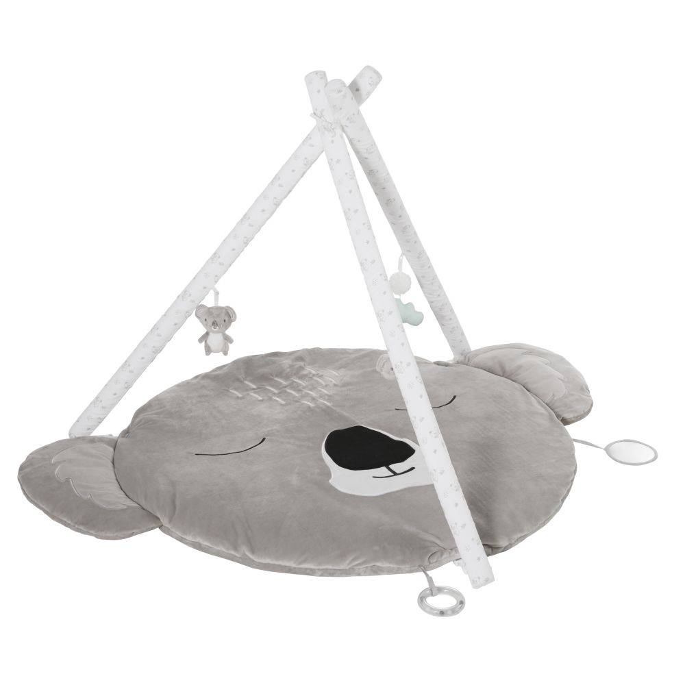 Maisons du Monde Tapis d'éveil bébé koala gris D90