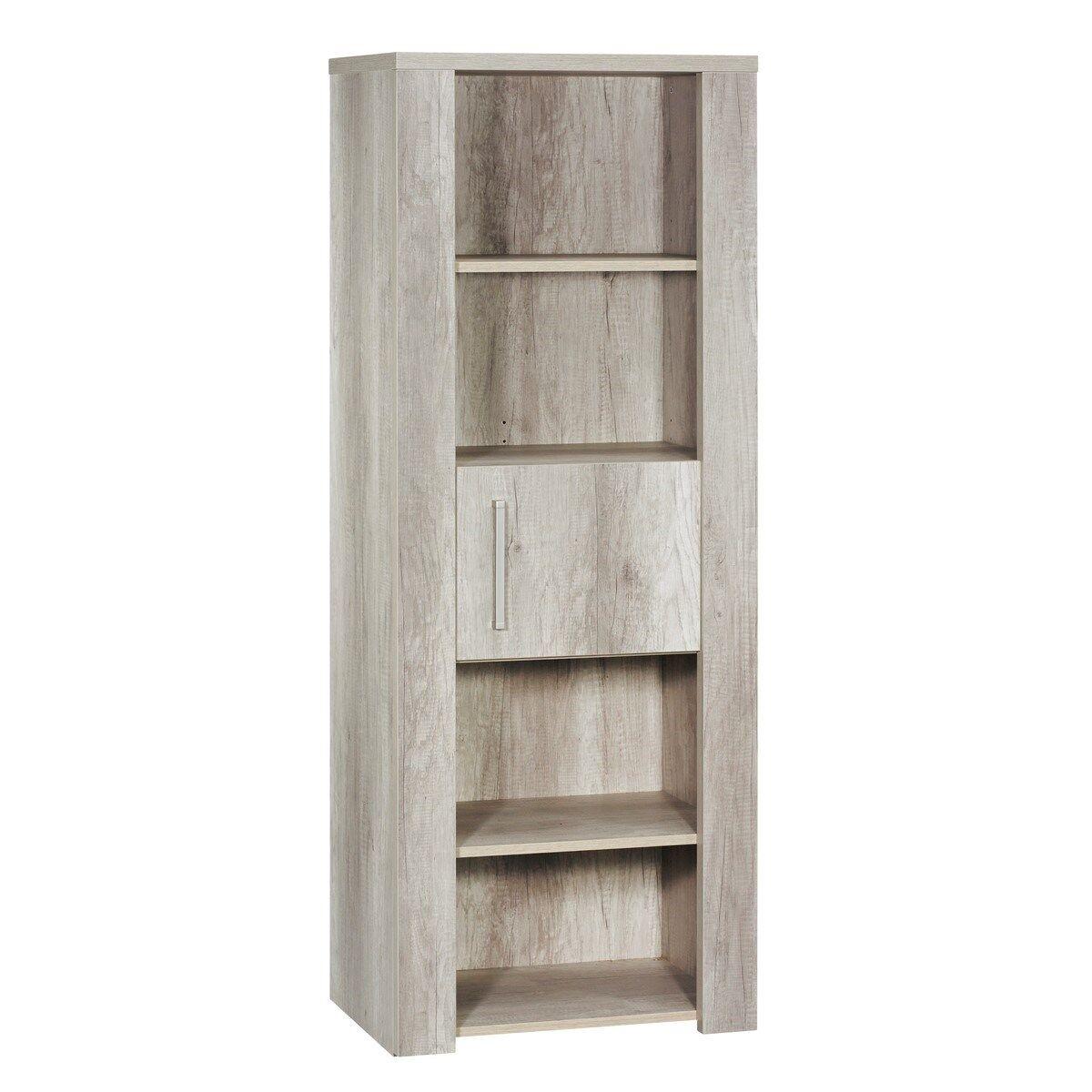Sauthon Meuble etagère bibliothèque en bois marron