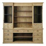 Maisons du Monde Bibliothèque 12 tiroirs 2 portes en manguier Naturaliste