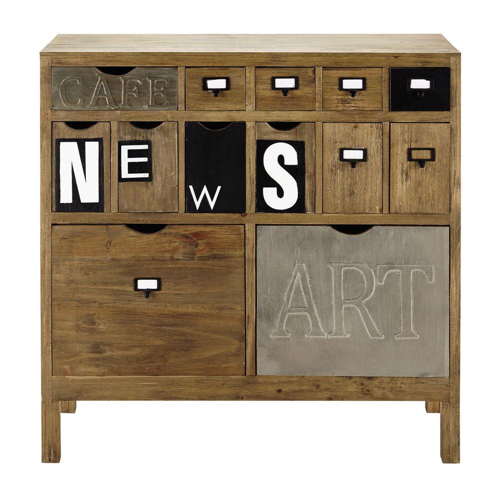 Maisons du Monde Cabinet de rangement en sapin News
