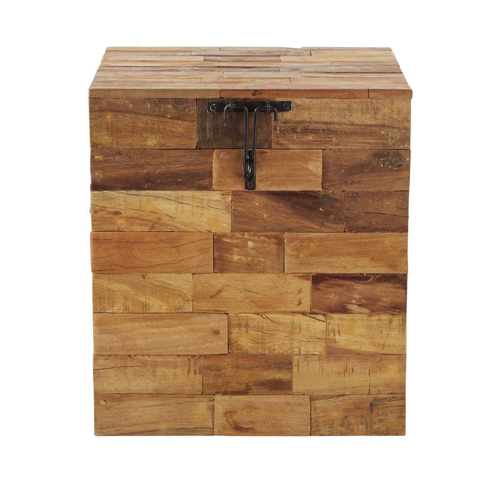 Maisons du Monde Malle en bois recyclé