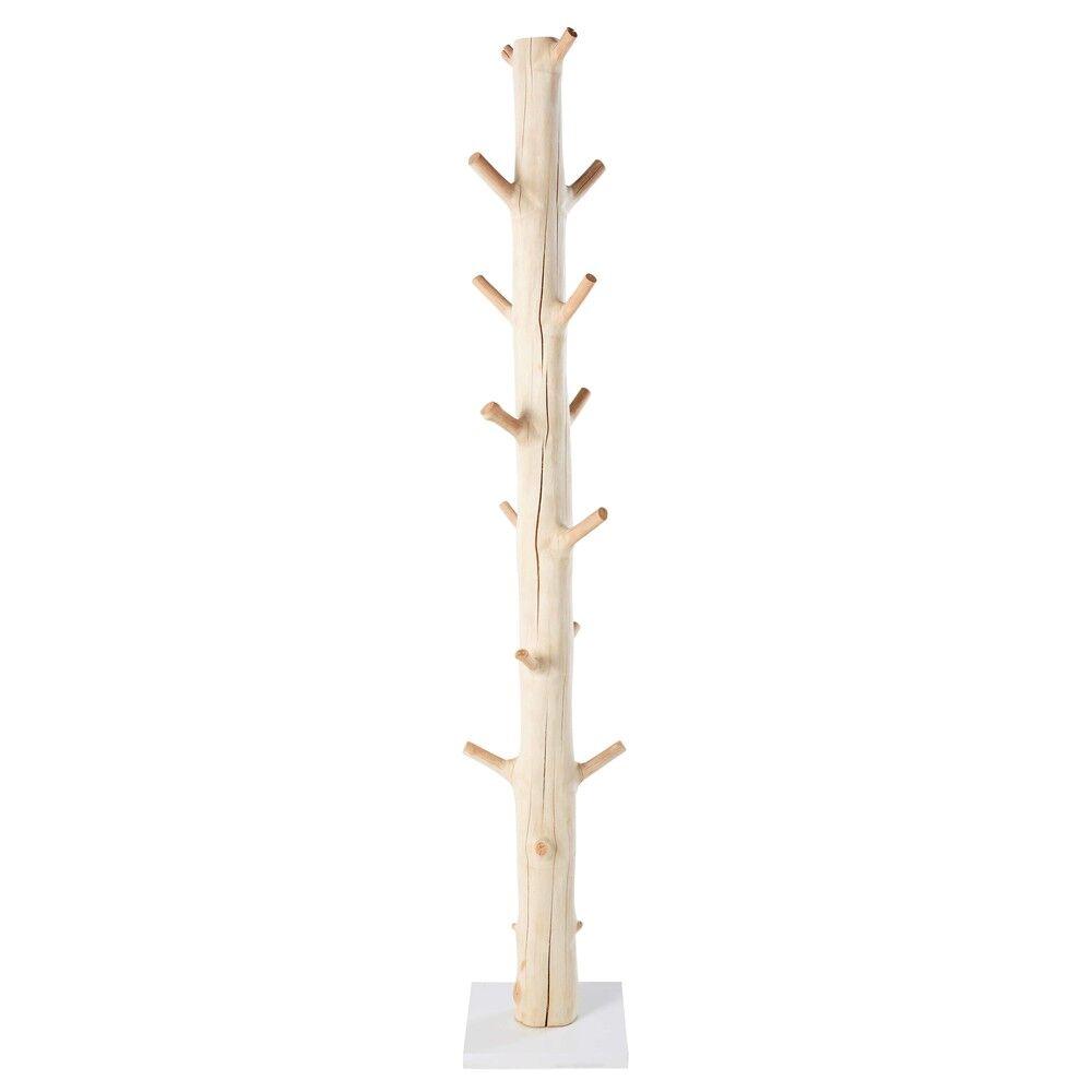 Maisons du Monde Porte-manteau tronc d'arbre en mangoustanier