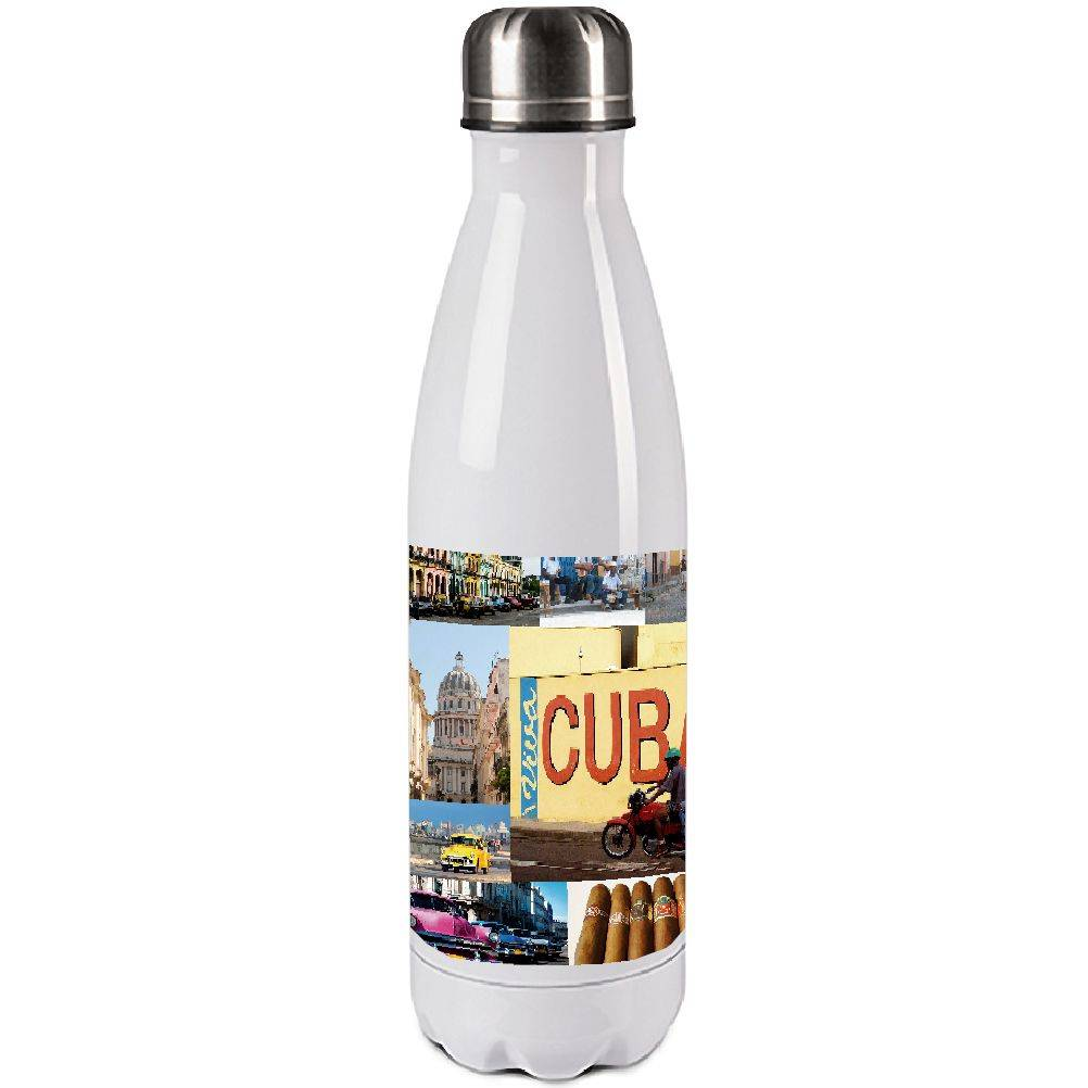 Cbkreation Bouteille isotherme en inox Cuba 500ml