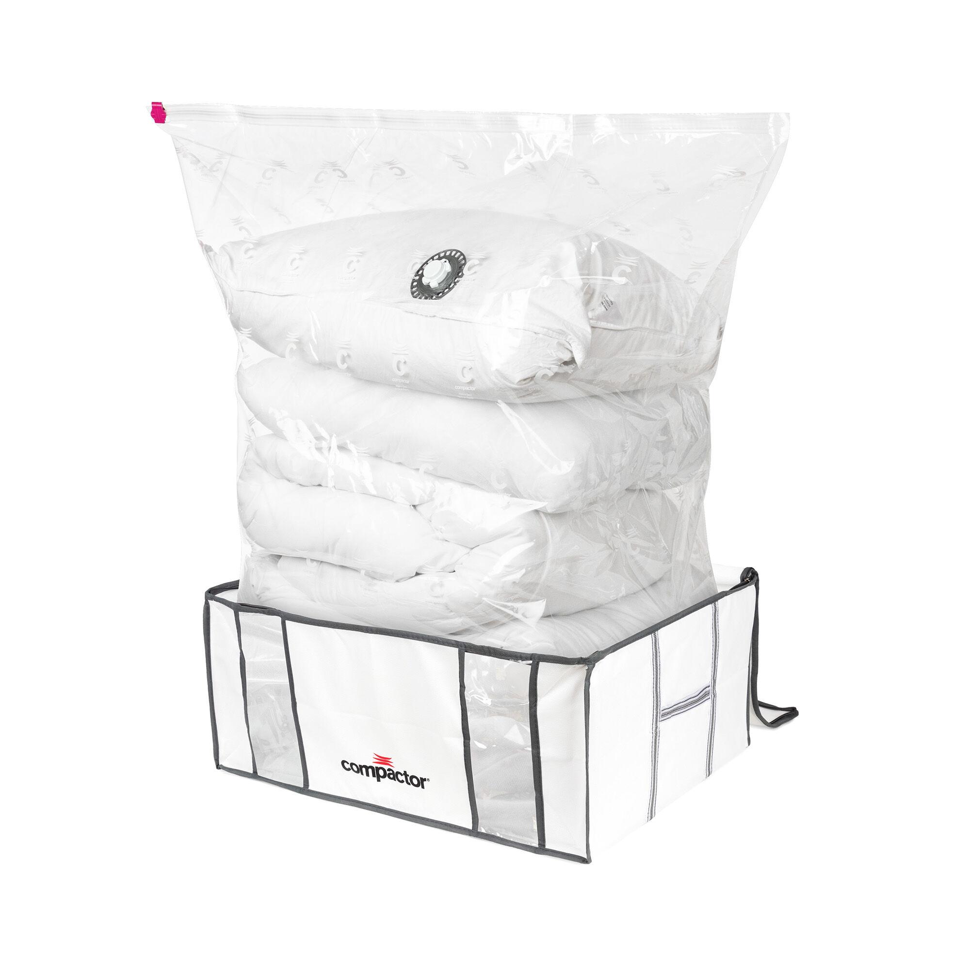 Compactor Housse de rangement sous vide - Lot de 2