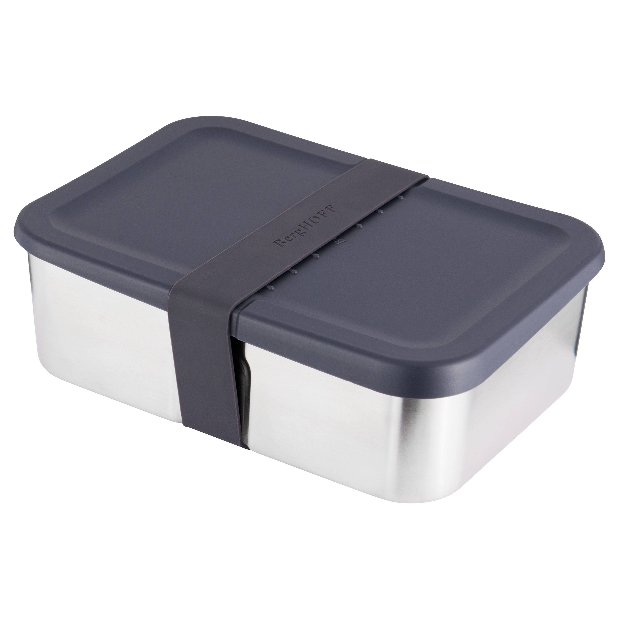 BergHoff Boîte à déjeuner en acier avec couvercle