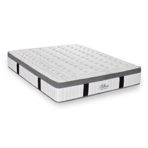 Maison Aubertin Ensemble matelas mémoire de forme et sommier 140x200 - Publicité