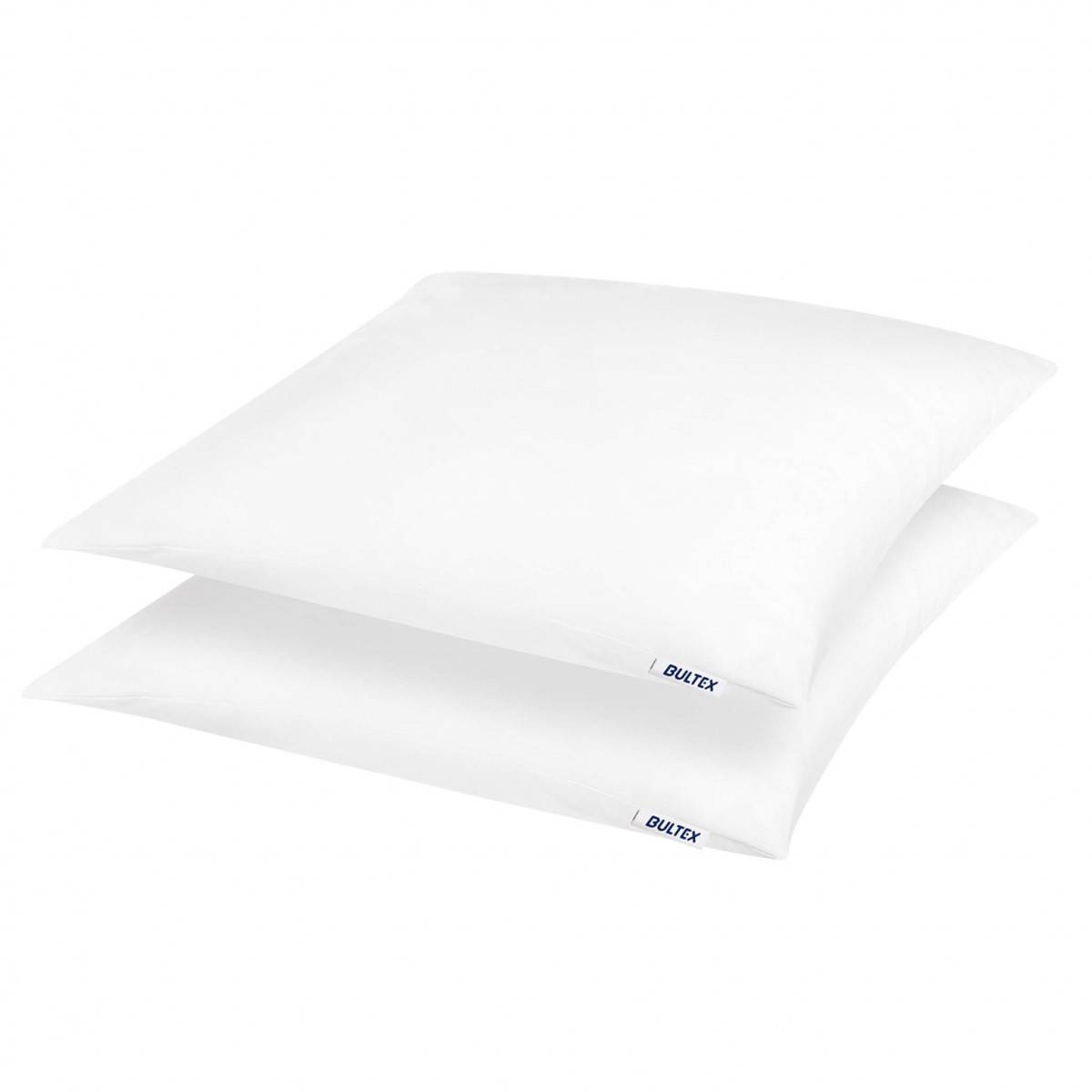 Bultex Lot de 2 oreillers moelleux en polyester 60x60