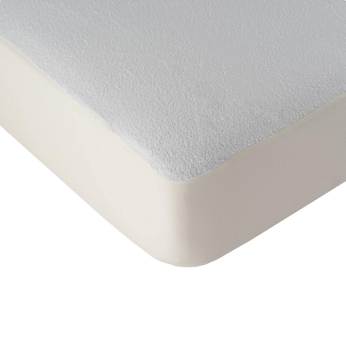 Linandelle Alèse protège matelas imperméable en coton blanc 80x190 cm