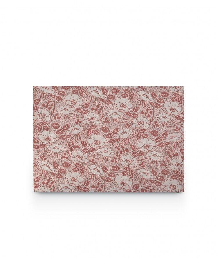 myQuintus Tte de lit avec housse Rose argile 140 cm