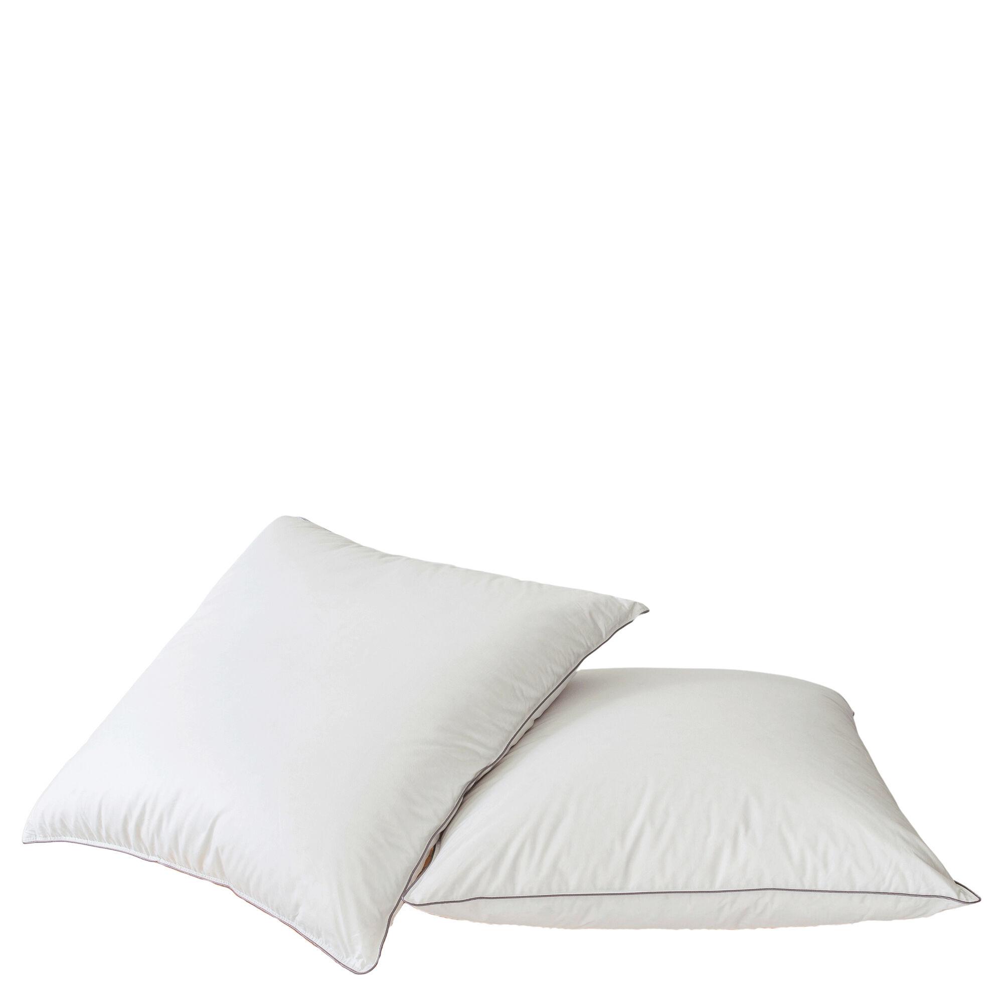 MPC Maison Oreiller htel luxe en Synthétique Blanc 65x65 cm