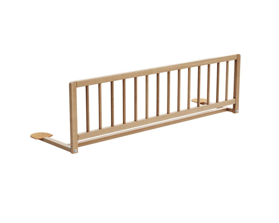 AT4 Barrière de lit hêtre verni