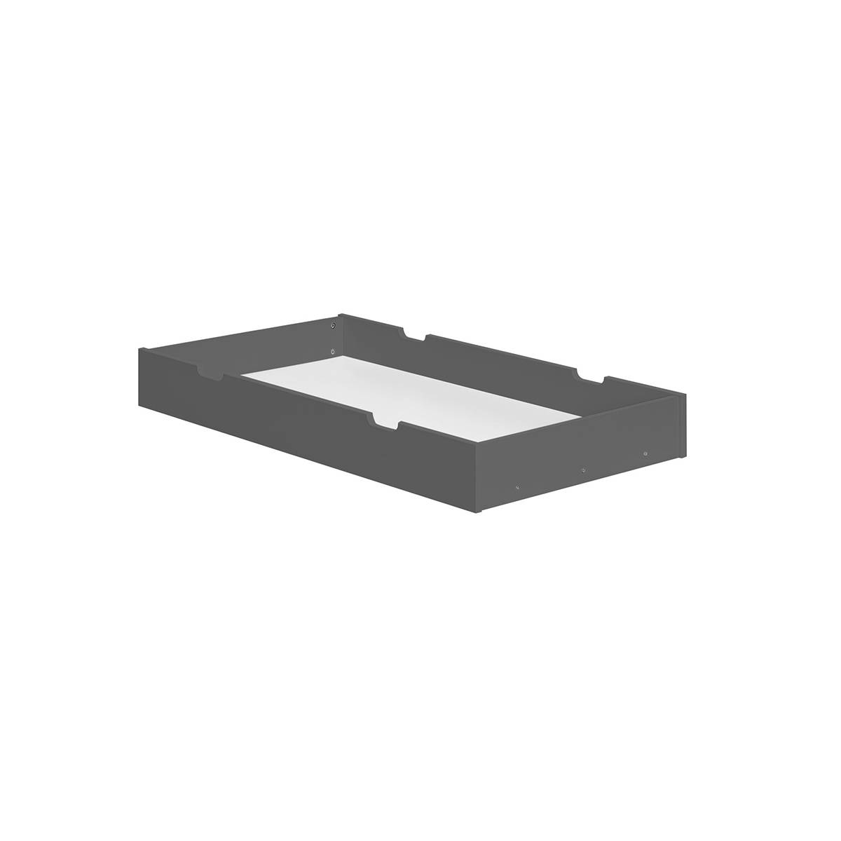 Pinio Tiroir pour lit évolutif 70x140 gris