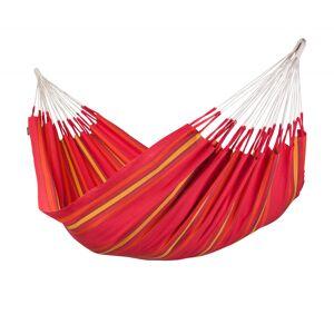 LA SIESTA Hamac classique double en coton rouge - Publicité