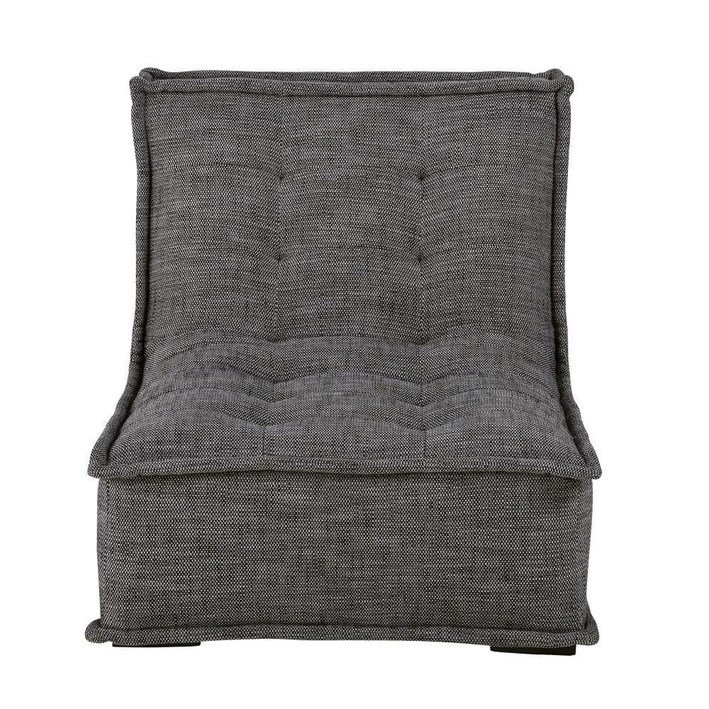 Maisons du Monde Chauffeuse de canapé gris charbon