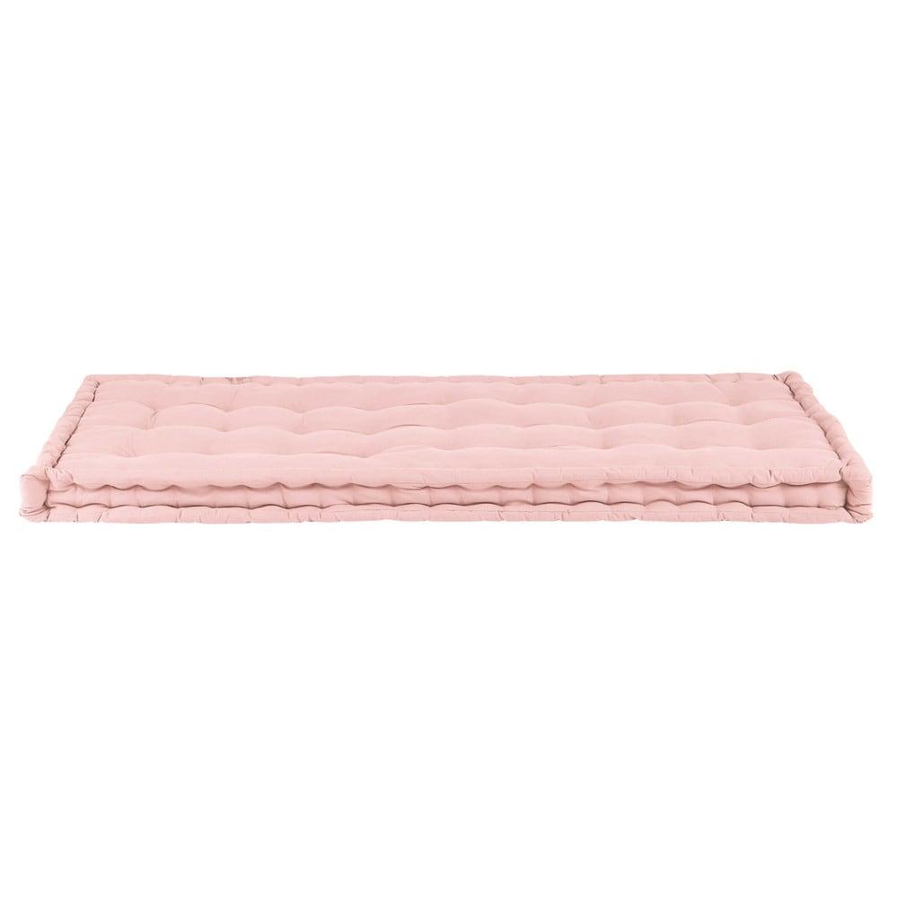 Maisons du Monde Matelas enfant en coton rose 90x190