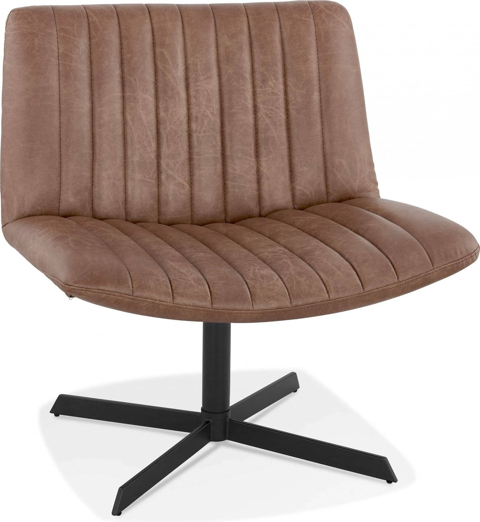 Kokoon Design Fauteuil xxl rotation 360 couleur marron