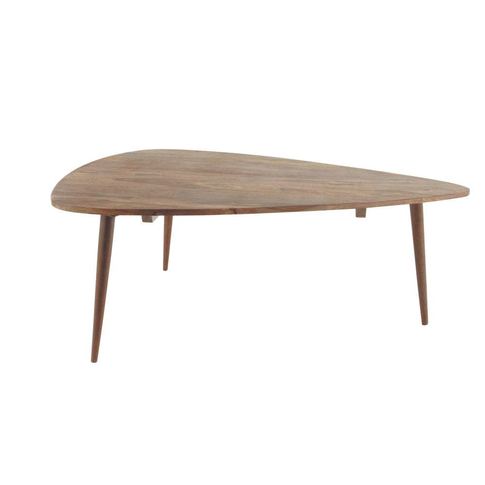 Maisons du Monde Table basse vintage en sheesham massif Andersen