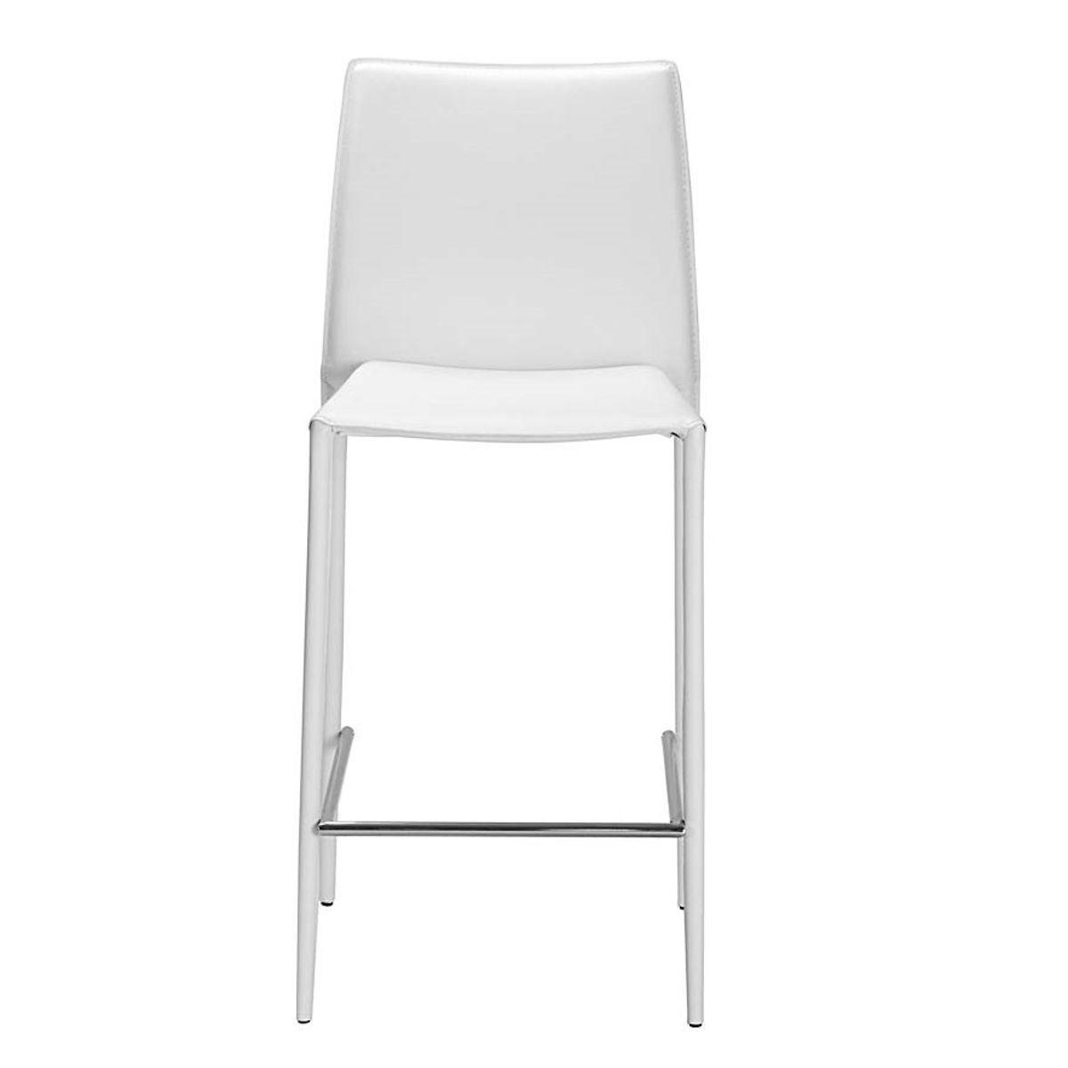 Zago Chaise plan de travail blanche Boréale