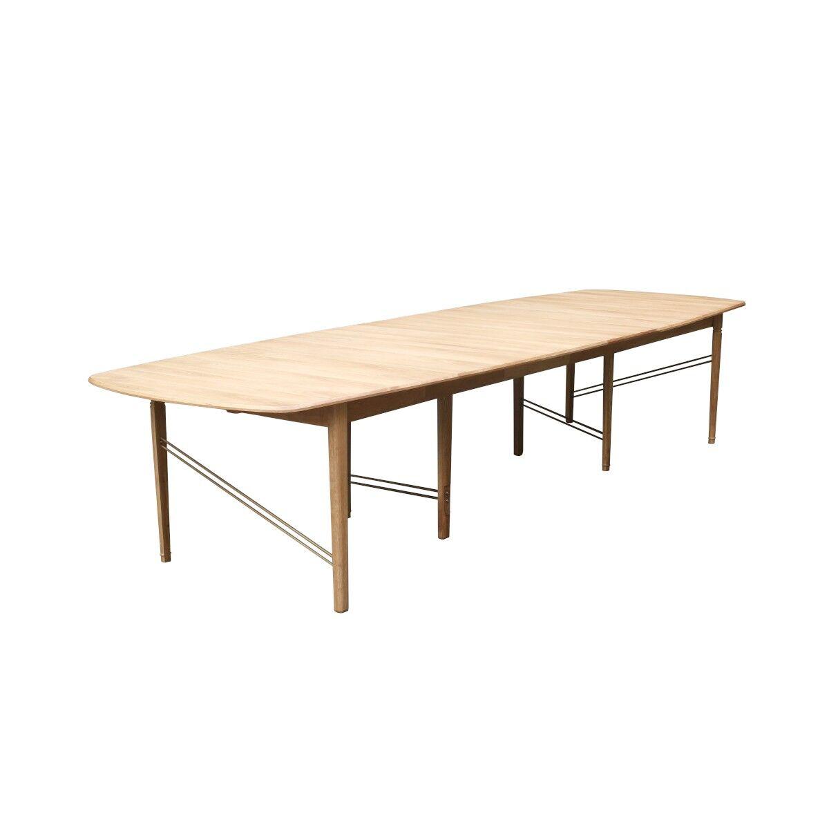 Robin des Bois Grande table chêne clair naturel