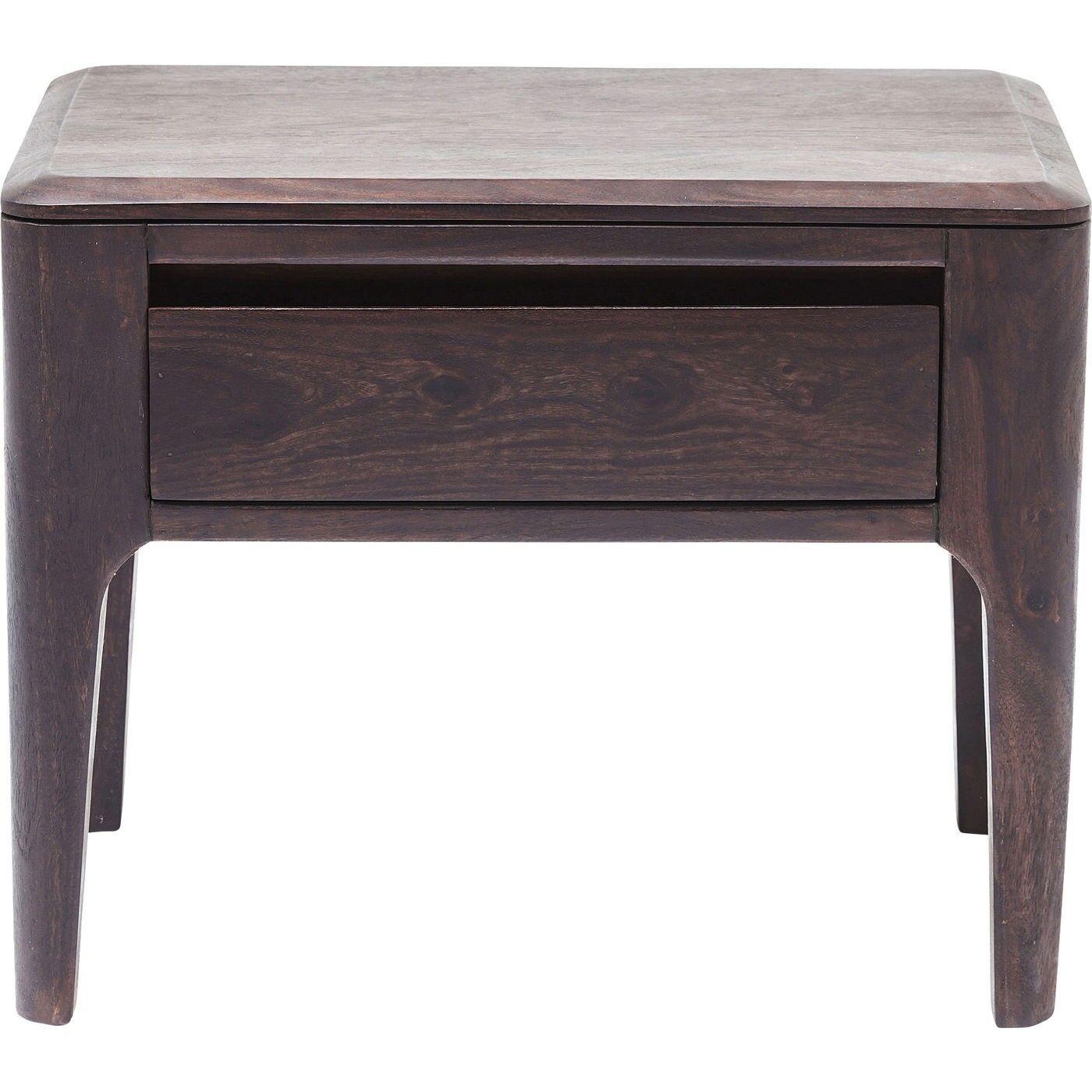 Kare Design Table de chevet 1 tiroir en Sheesham massif