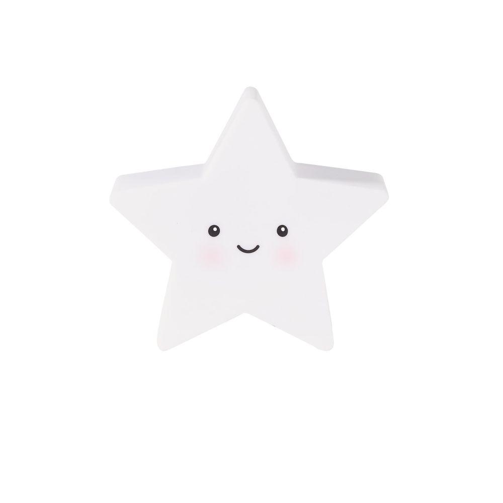 Maisons du Monde Veilleuse étoile blanche