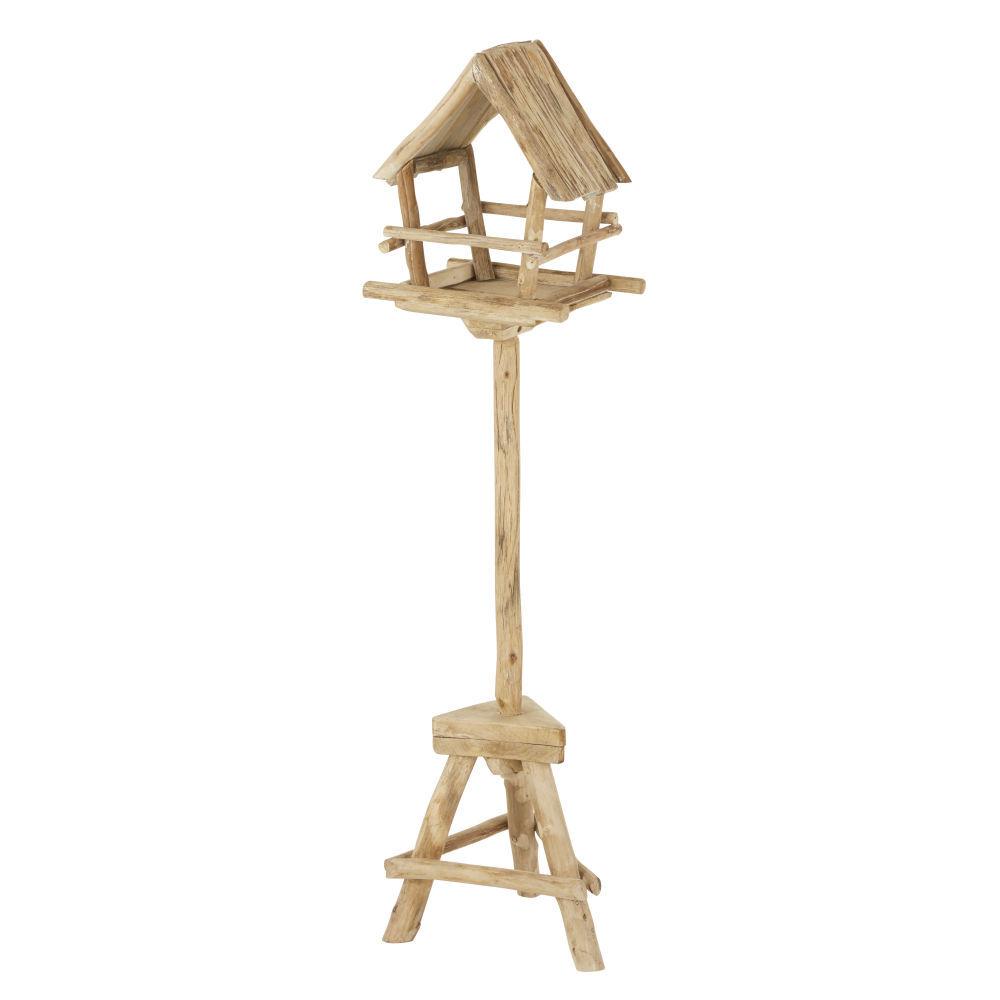 Maisons du Monde Mangeoire pour oiseaux en sapin H129