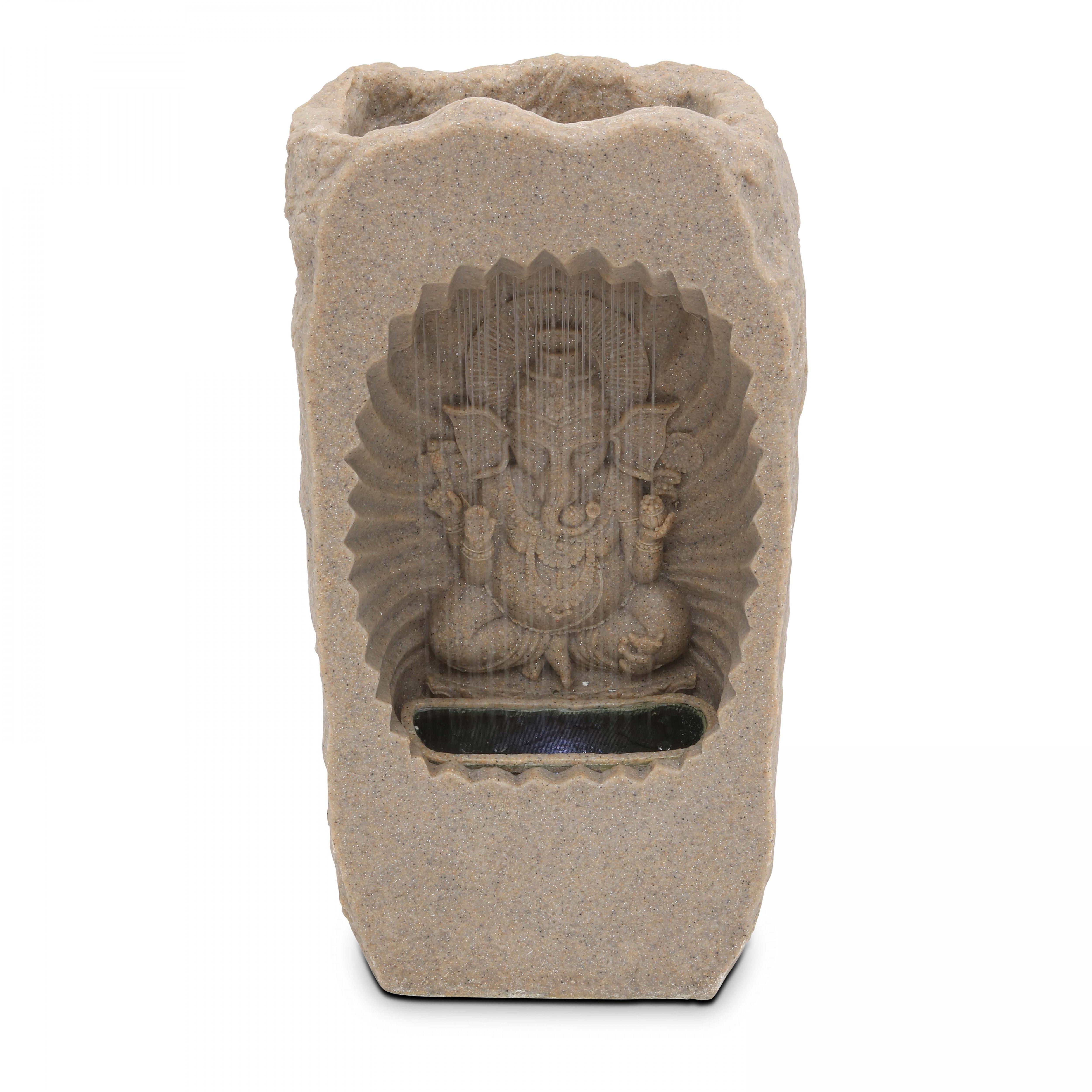 Oviala Fontaine Ganesh LED gris
