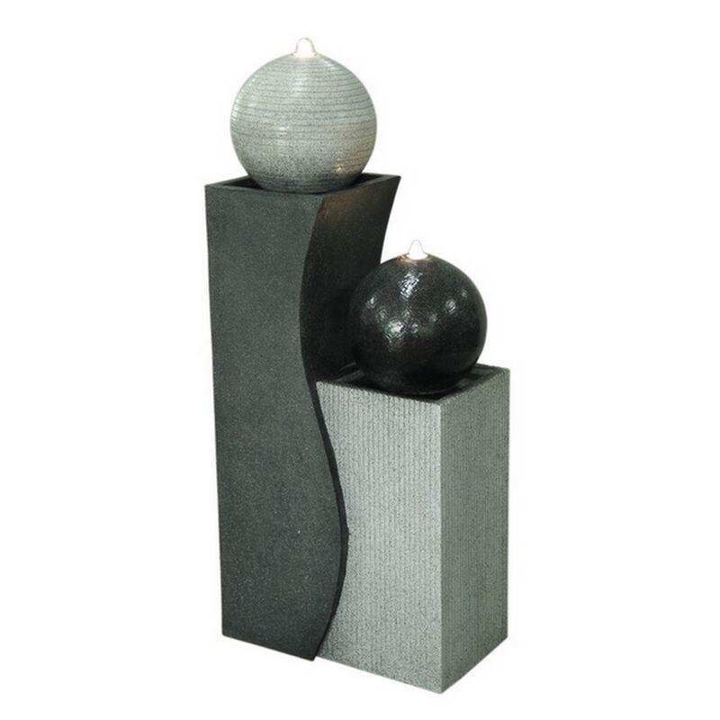 Zen'Light Grande fontaine de jardin H94cm