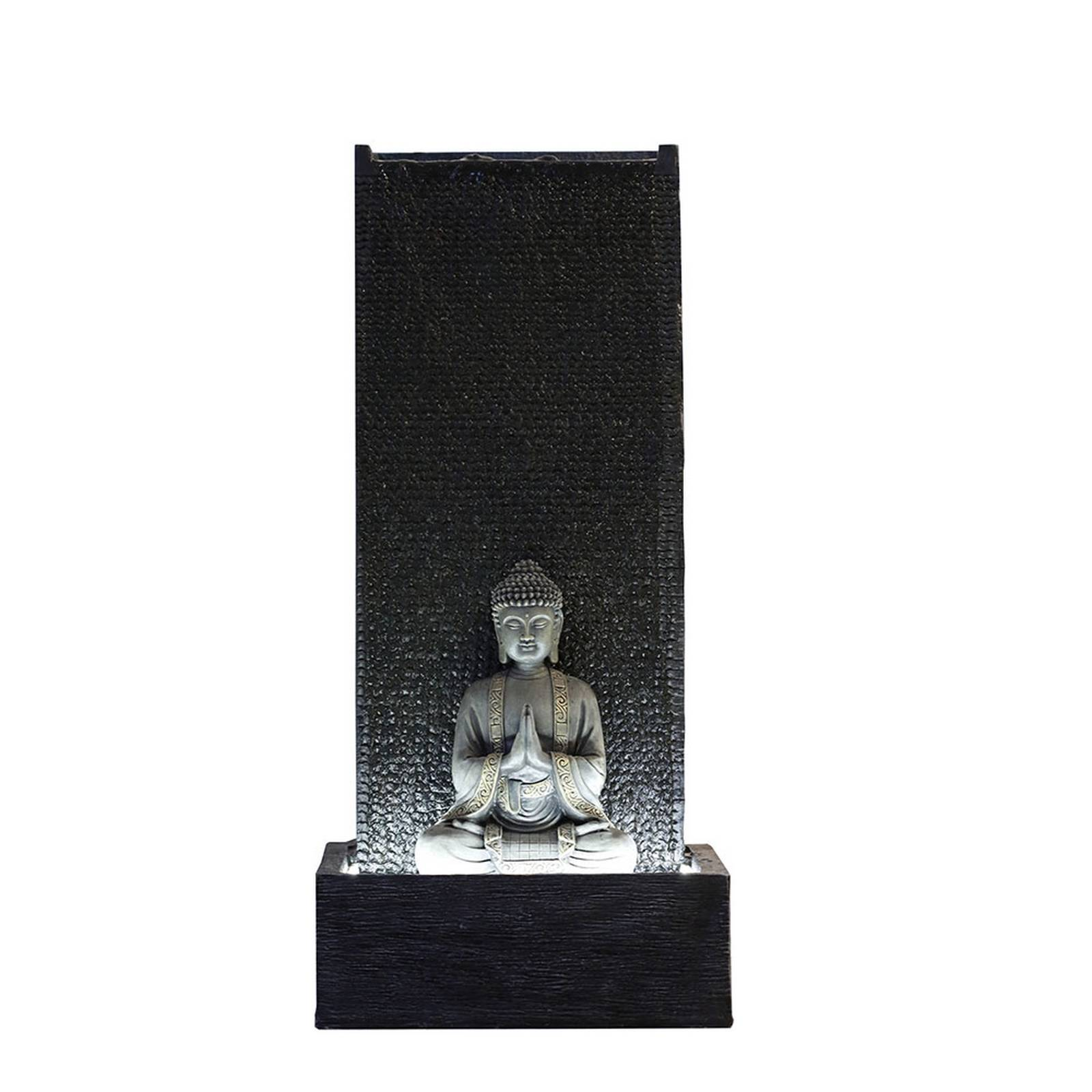 Zen'Light Grande fontaine de jardin mur H100cm