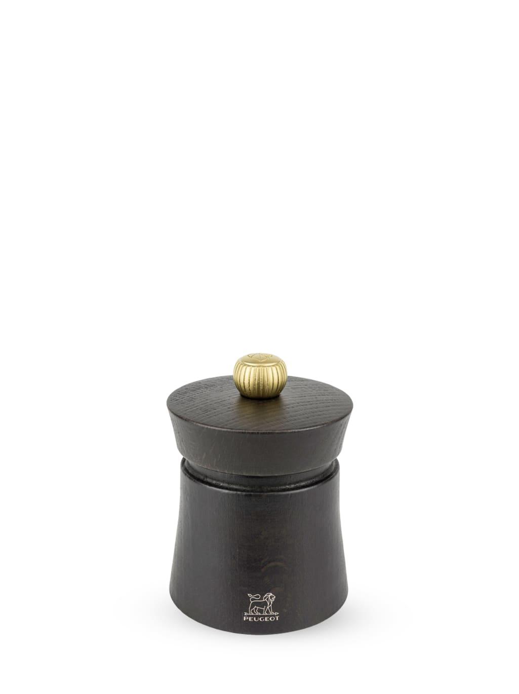 Peugeot Saveurs Moulin  poivre manuel en bois chocolat H8cm