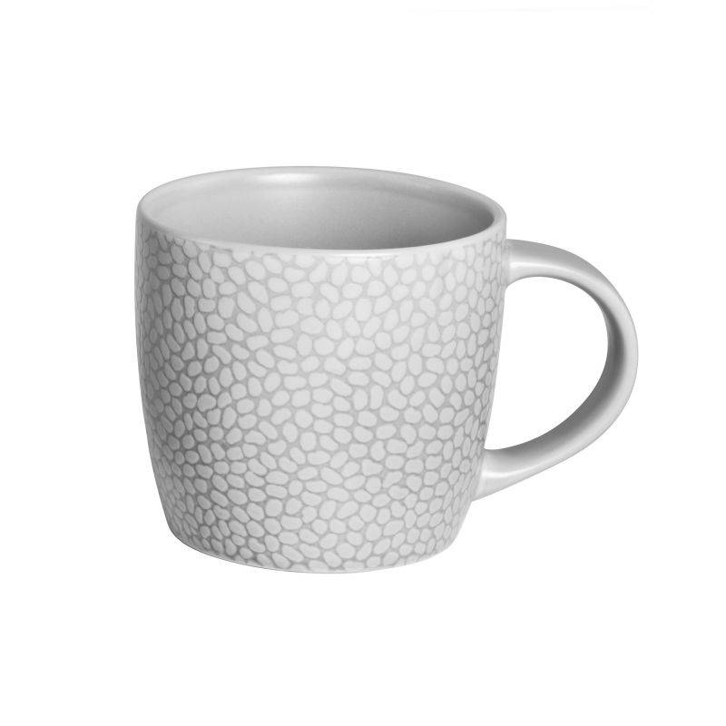 Medard de Noblat Coffret 6 tasses café & thé gris clair