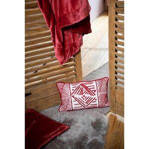Vivaraise Plaid  en polyester rubis 150 x 200 - Publicité