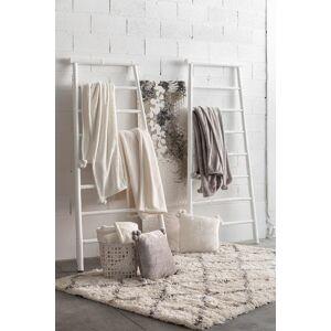 Vivaraise Plaid  en polyester neige 130 x 160 - Publicité