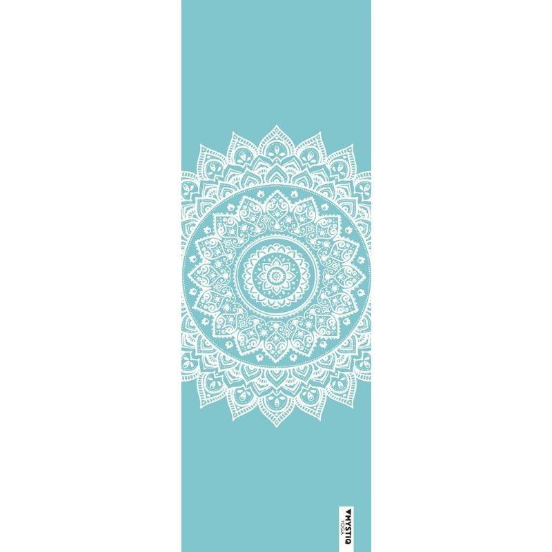 Mystiq Yoga Tapis de yoga mandalife bleu