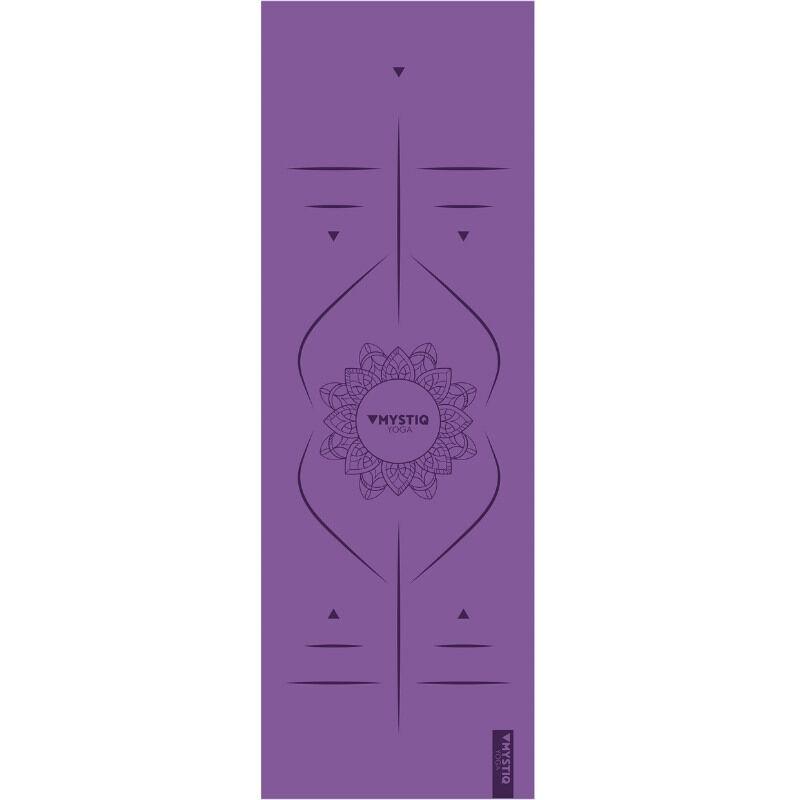 Mystiq Yoga Tapis de yoga start mandalign violet