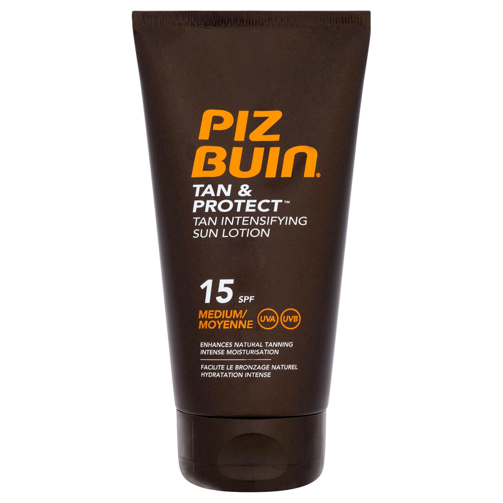 Piz Buin Crème Solaire Protectrice Intensificateur de Bronzage Tan & Protect Piz Buin – Protection Moyenne SPF15 150ml