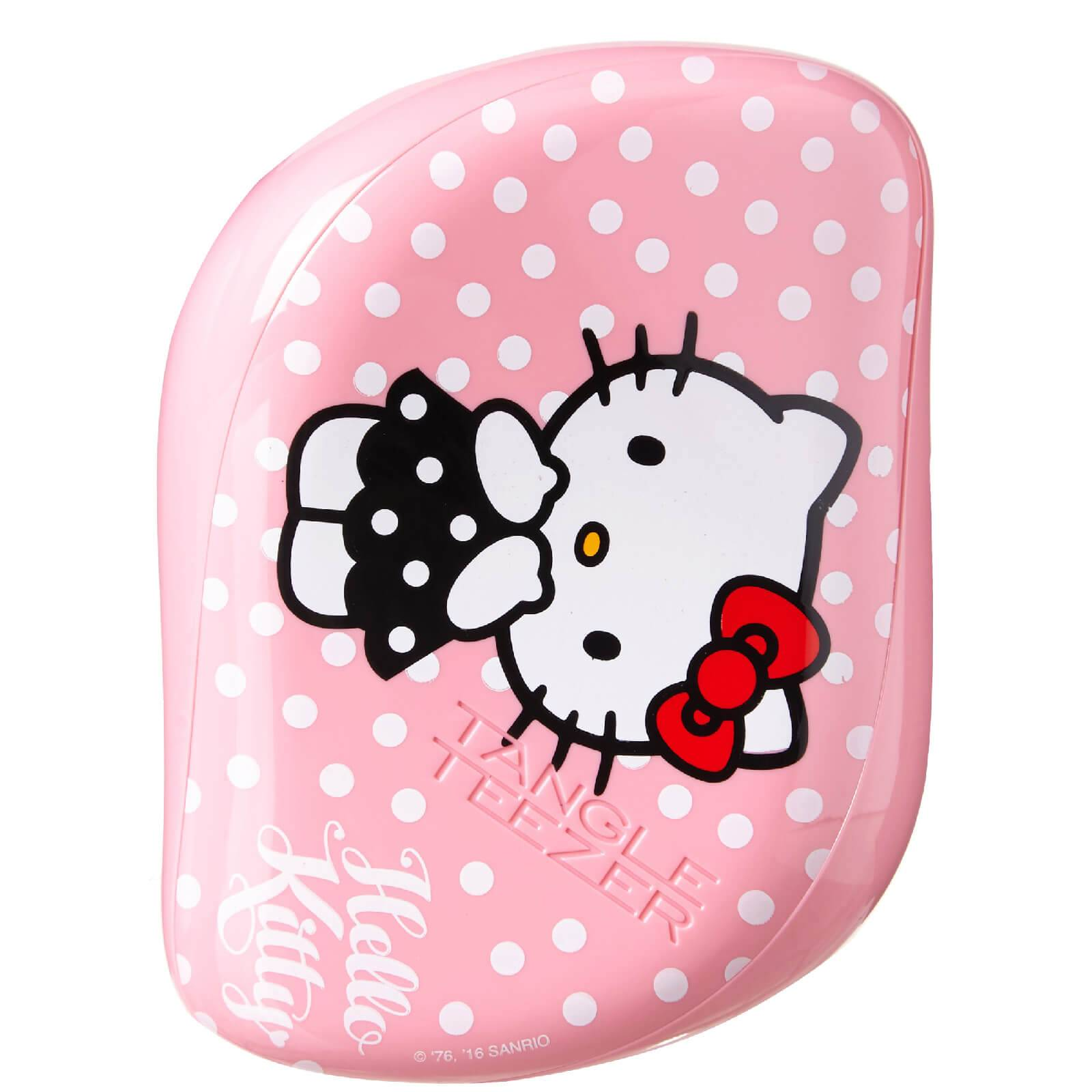 Tangle Teezer Brosse à cheveux compacte démêlante Hello Kitty - rose