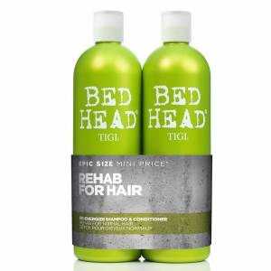 TIGI Duo soins fortifiants TIGI Bed Head Re-Energise - Publicité