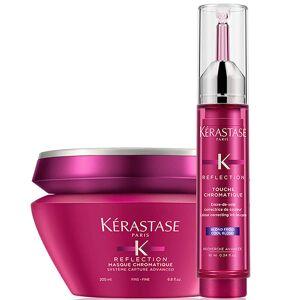 Masque pour Cheveux Fins et cool Blonde Touche Chromatique Kérastase Reflection Duo - Publicité