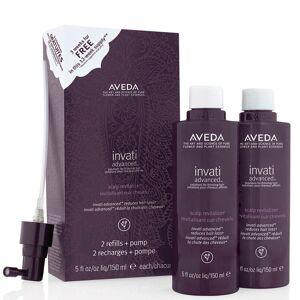 Aveda Duo de soins revitalisants cuir chevelu Invati Advanced, 2 x 150ml - Publicité